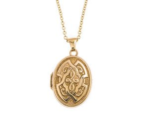 Pre-Owned 9ct Gold Oval Locket