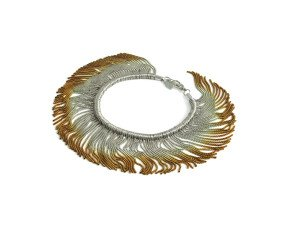 Sterling Silver & Gold Vermeil Interchangeable Bracelet/Necklace