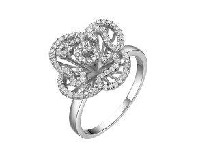 Sterling Silver Mini Cascade Ring