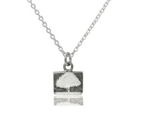 Sterling Silver Little Tree Necklace