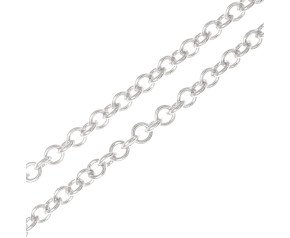 9ct White Gold 1.76mm Trace Chain