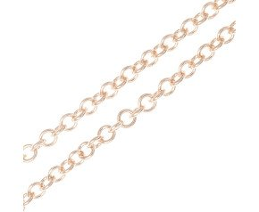 9ct Rose Gold 1.76mm Trace Chain