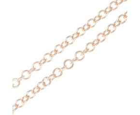 18ct Rose Gold 1.76mm Trace Chain