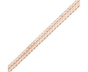 9ct Rose Gold Venetian Box Chain