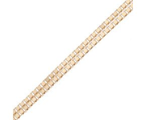18ct Yellow Gold Venetian Box Chain