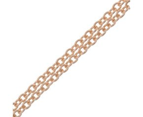 9ct Rose Gold 1.23mm Trace Chain