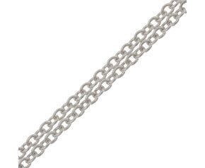 18ct White Gold 1.23mm Trace Chain