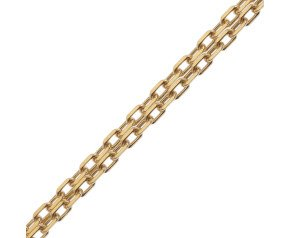 18ct Yellow Gold Filed Trace Chain