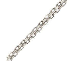 18ct White Gold Filed Trace Chain