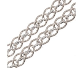 9ct White Gold Cascarine Necklace