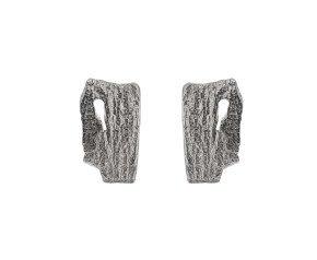 Sterling Silver Bark Studs