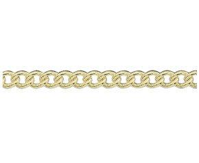 9ct Gold Round Belcher Bracelet