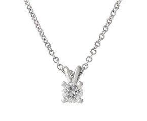 Classic Collection Platinum 0.50ct Diamond Solitaire Pendant