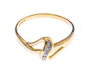 Pre-Worn 9ct Gold Diamond Dress Ring