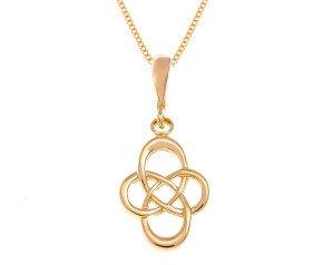 9ct Gold Celtic Motif Design Pendant