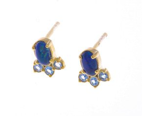 9ct Gold Opal Fancy Earrings