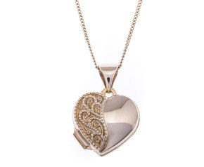 9ct Gold Small Heart Locket
