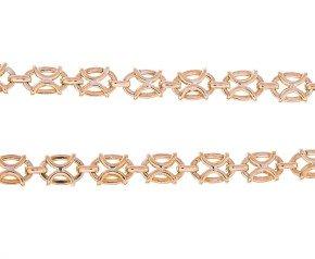 Vintage 9ct Gold Fancy Necklace