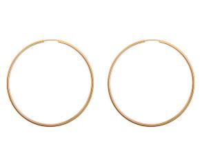 Pre-Owned Large Hoop Earrings