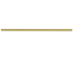 9ct Yellow Gold 1.62mm Snake Chain