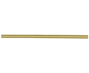 9ct Yellow Gold 1.92mm Snake Chain