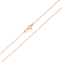 18ct Rose Gold 1.23mm Trace Chain