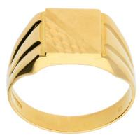 Pre-owned Italian Men's Signet Ring