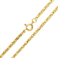 "Pre-owned Gold 18"" Byzantine Chain Necklace"