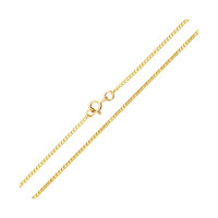 9ct Yellow Gold 1.82mm Curb Chain