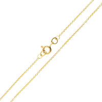 18ct Yellow Gold 1.23mm Trace Chain
