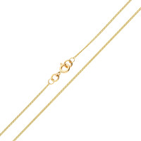 9ct Yellow Gold 0.97mm Curb Chain