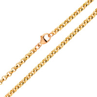 9ct Rose Gold 4.39mm Belcher Chain