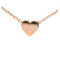 9ct Rose Gold Heart Necklace