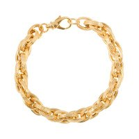 Men's Yellow Gold 8.70mm Prince of Wales Bracelet