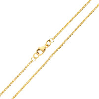 18ct Yellow Gold 1.30mm Spiga Chain