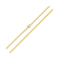 9ct Yellow Gold 2.45mm Curb Chain