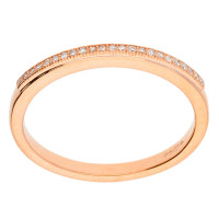 9ct Rose Gold Diamond Eternity Ring