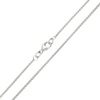 18ct White Gold 1.30mm Spiga Chain