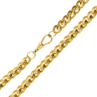 9ct Yellow Gold Cascarine Necklace