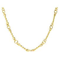 9ct Yellow Gold Fancy Chain Necklace