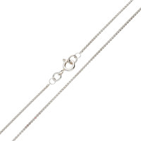 18ct White Gold 1.08mm Spiga Chain