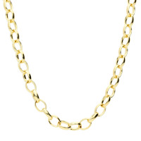 9ct Yellow Gold 4.55mm Oval Belcher Chain
