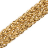 9ct Gold Spiga Chain