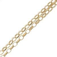 9ct Maxibel Filed Belcher Chain Necklace