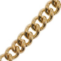 9ct Gold Albert Curb Chain Bracelet
