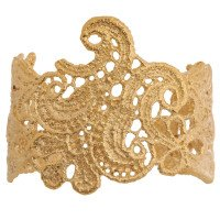 18ct Gold Vermeil Lace Cuff