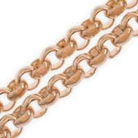9ct Rose Gold Belcher Chain
