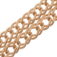 9ct Rose Gold French Curb Chain
