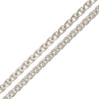 18ct White Gold 1.30mm Spiga Chain