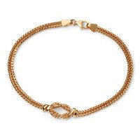 9ct Gold Infinity Knot Bracelet